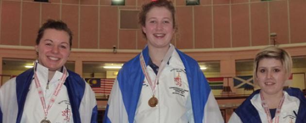 2011 Junior Commonwealth Women's Foil Medalists