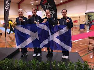 Women's Sabre Team - Bronze Medal